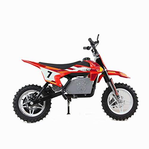 MAF Evolution MX1000 Electric Dirt Bike 800 watt motor 36 volt Red