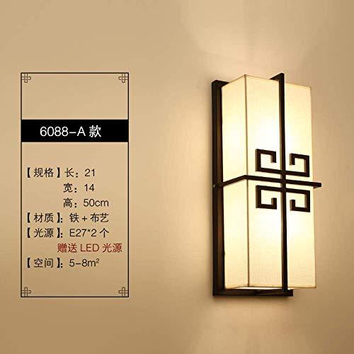 CHOUCHOU Apliques Pared Lámpara de Pared Lámpara de cabecera Lámpara de Pared Dormitorio del Fondo del Pasillo del Hotel de la lámpara de la Sala de la Pared del Accesorio Ligero, Blue Sky