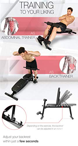 Sportstech-BRT500-Innovative-Weight-Bench-with-Unique-Design-Ergonomic-EVA-Padding-Material-Intelligent-Folding-System-Anti-slip–Folding-Fitness-Bench