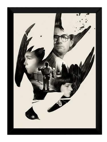 Quadro To Kill A Mockingbird Arte Poster Moldurado Decoração