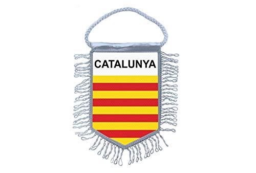 Akachafactory Mini banner vlag pennant venster spiegel auto's land banner catalonia catalan