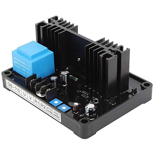 Regulador de voltaje automático, AVR 400VA GB-110 Accesorio industrial Equipo de voltaje medio Adecuado para generadores sin escobillas trifásicos autoexcitados, grupo electrógeno con cepillo