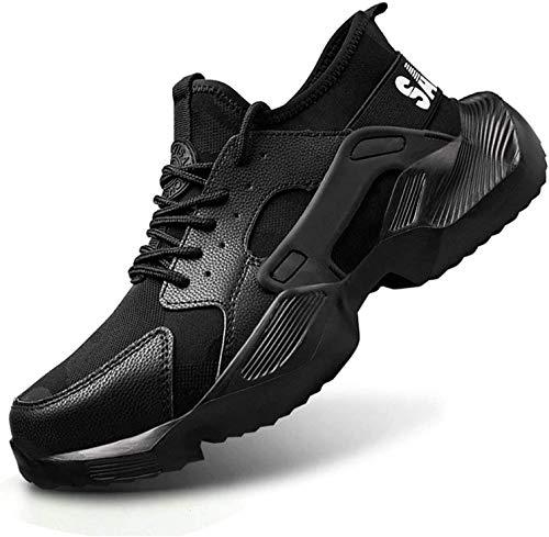LBHH Zapatos de Trabajo Botas de Seguridad Zapatos de Seguridad Botas de Seguridad Transpirables Zapatillas de Deporte Zapatos Ligeros Hombres Mujeres Zapatillas de Trabajo Botas de Seguridad