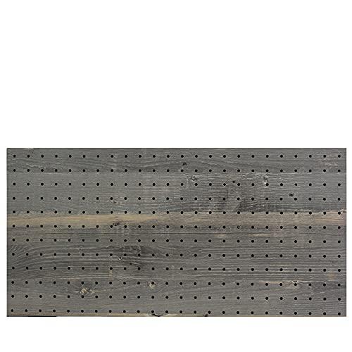 光(Hikari) ヴィンテージボード パンチングボード 有孔ボード 910x1820x5.5mm グレー 穴ピッチ:25mm PGMBD189-1