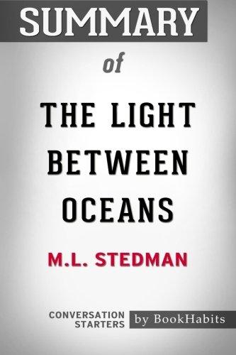 Resumen de la luz entre los océanos por M.L. Stedman   Conversación Starters