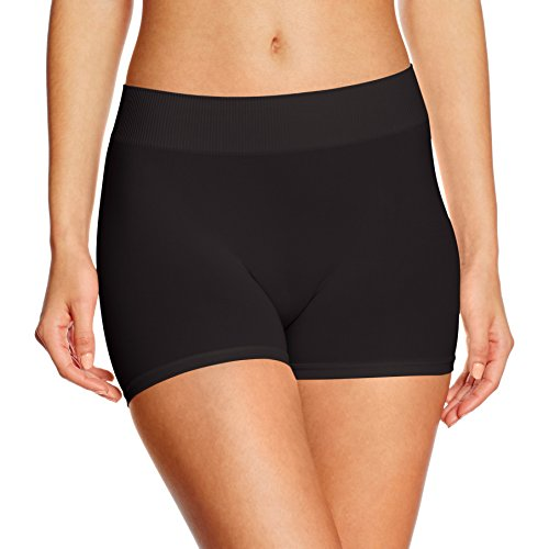 PIECES Damen PCLONDON Mini Shorts NOOS Panties, Schwarz Black, 34 (Herstellergröße:XS/S)