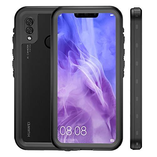 ZHENGNING Custodia Protettiva 2m 2m Impermeabile Antiurto Antipolvere PC TPU + for Huawei P20 Lite (Nero) Custodia Sottile per Smartphone (Colore : Black)