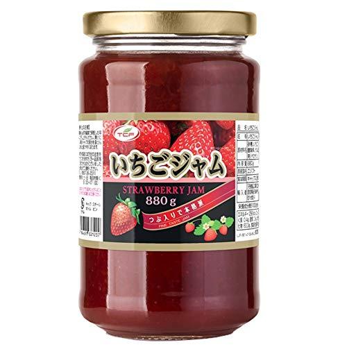 いちごジャム 大容量 業務用 (880gx12瓶) イチゴジャム つぶ入り 苺 いちご ジャム ストロベリー 小分け