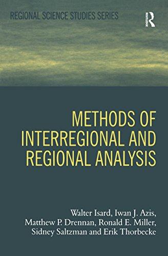 Methods of Interregional and Regional Analysis (Regional Science Studies Series) (English Edition)