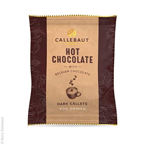 Callebaut Hot Chocolate Dark Callets, 25x35g in dispenser