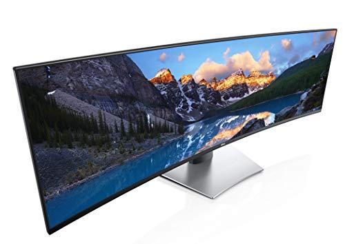DELL U4919DW 124,5 cm (49 Zoll) Monitor (HDMI, DisplayPort, LED, 5ms Reaktionszeit) schwarz