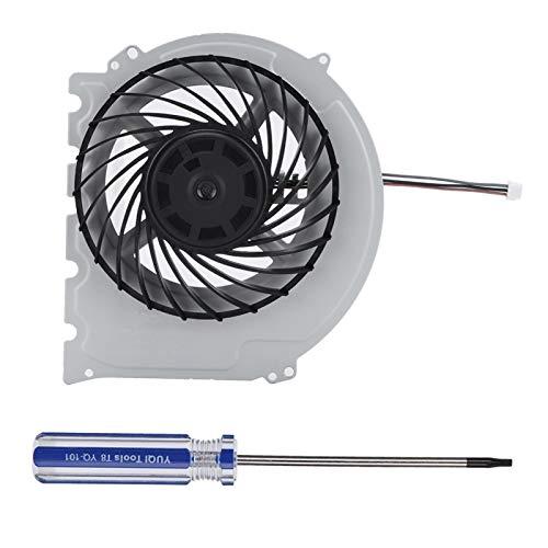 FOLOSAFENAR Ventilador Incorporado Apto para Ps4 Slim Ventilador Incorporado con refrigeración por Destornillador, para Ps4 Slim 2000