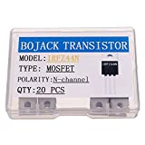 BOJACK IRFZ44N MOSFET 49 A 55 V IRFZ44NPBF Transistores MOSFET de canal N TO-220 (paquete ...