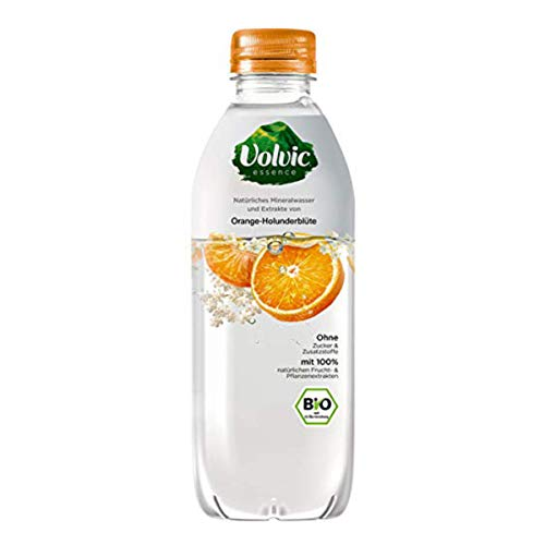 Volvic Essence Orange Holunderblüte BIO Erfrischungsgetränk 750ml