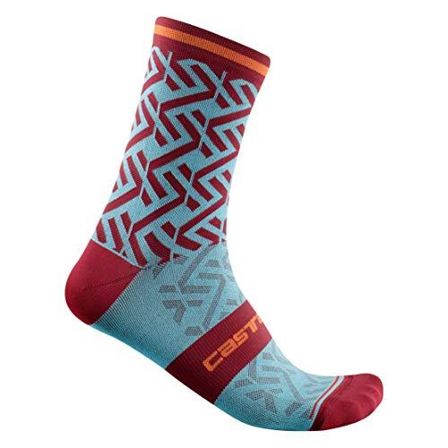 CASTELLI Tiramolla 15 Sock - Calcetines para hombre, Hombre, Calcetines, 4521032-479, azul celeste, XX-Large