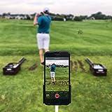 InFreesh Golf Swing - Soporte universal para teléfono móvil, accesorio de golf, toma los balancines para corregir y repite el entrenamiento