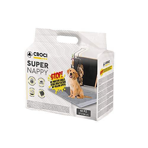Croci Tappetino Super Nappy Carboni Attivi 57X54 60Pz