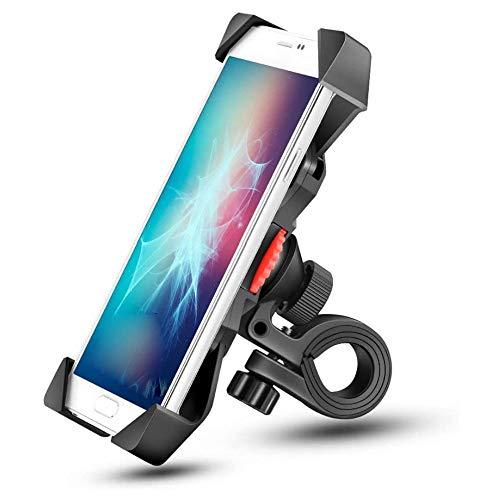 AMOYEE Teléfono de Bicicleta Monte Anti Batidos y Accesorios de Bicicleta de rotación de 360 ° Estable for Cualquier teléfono Inteligente GPS Otros Dispositivos Entre 3.5 y 6.5 Pulgadas