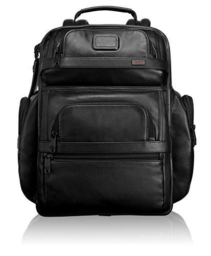 Tumi Alpha 2, Brief Pack in Pelle businessclass T-Pass, Nero - 096578D2