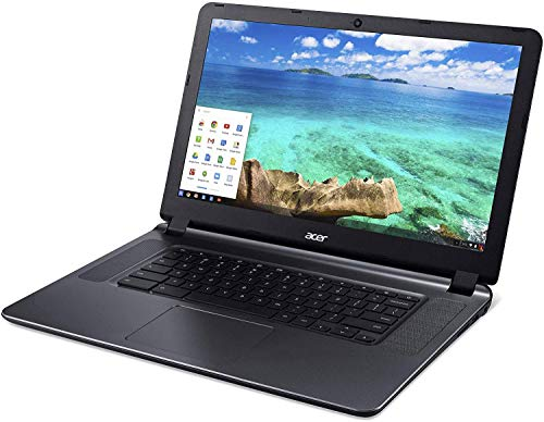 "Acer Flagship CB3-532 15.6"" HD Premium Chromebook - Intel Dual-Core Celeron N3060 up to 2.48GH.z, 2GB RAM, 16GB SSD, Wireless AC, HDMI, USB 3.0, Webcam, Chrome OS, Mouse (Renewed)"