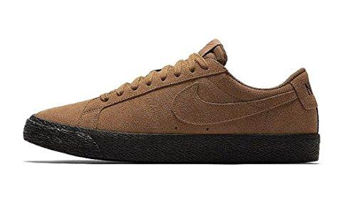 Nike SB Zoom Blazer Low, Zapatillas para Hombre, Multicolor (Lt British Tan/Lt British Tan/Black 001), 39 EU