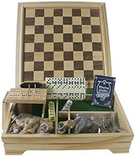 cbd1bb08f1fe CAL FUSTER - Juegos Reunidos en Caja de Madera. Medidas: 30x30 cm.