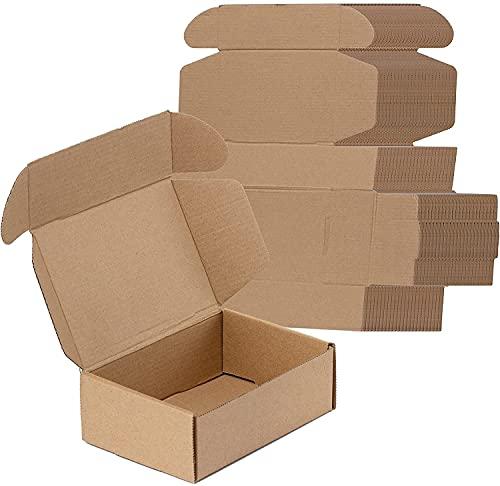 LY-YY Cajas De Cartón para Envío Cajas De Embalaje Royal Mail Envío De Paquetes Pequeños Envío Postal Envío Marrón (Color : 50 Pack, Size : 23x16x5cm)