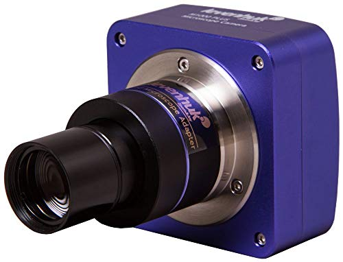 Levenhuk M1000 Plus Digital Camera for Microscopes, Comes with Necessary Software (Compatible with Mac, Linux and Windows)