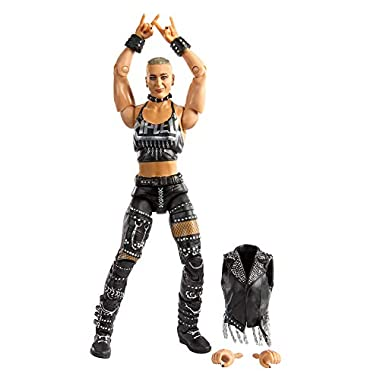 WWE Rhea Ripley Elite Collection Action Figure, 6-in/15.24-cm Posable Collectible Gift for WWE Fans Ages 8 Years Old…
