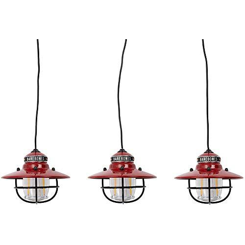 ベアボーンズ(Barebones) エジソンストリングライトLED レッド 20230007004000