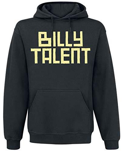 Billy Talent Louder Than The DJ Männer Kapuzenpullover schwarz L