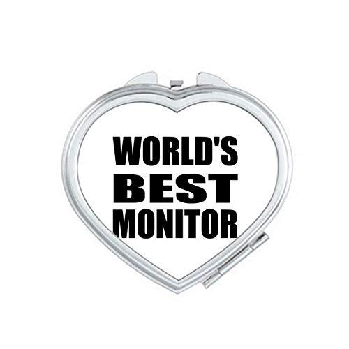 World's Best Monitor Graduation season Mirror Travel Magnification Portable Handheld Pocket Makeup