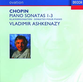 Chopin: Piano Sonatas Nos.1-3