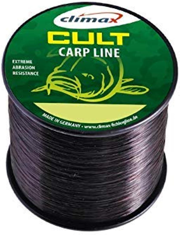 Climax Cult CARP CARPLINE SB 3000m 0,34mm 9kg schwarz Hauptschnur Karpfenschnur Mainline Monofil Mono B07MMH1K1S  Das hochwertigste Material