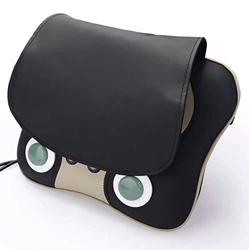 BAIMENG 6 Cabezales de Masaje Shiatsu masajeador Cervical Almohada con Calor, 3 Modos con una tecla de Control masajeador for aliviar el Dolor Muscular en casa o automóvil liqiang96