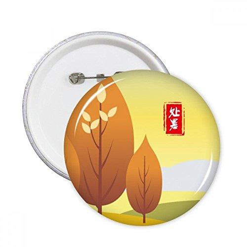 DIYthinker Detener Botón de calor Veinte Plazo pernos redondos Placa Solar Cuatro ropa 5Pcs la decoración del regalo Multicolor L