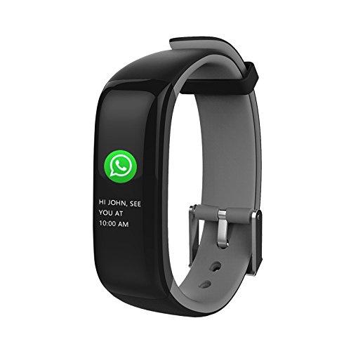 BINDEN Smartband P1 Plus con Pantalla a Color, Monitor de Ritmo Cardíaco y Presión Arterial,…