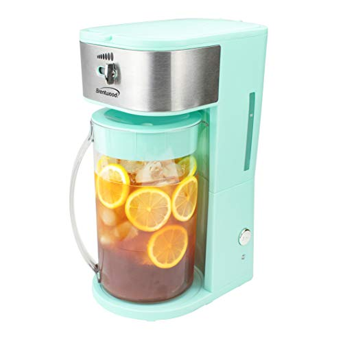 Brentwood KT-2150BL Iced Tea and Coffee Maker with 64 Ounce...
