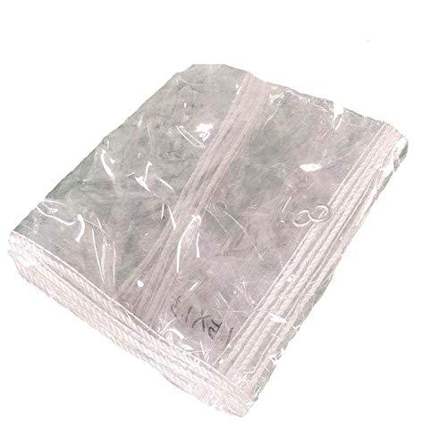 Lona Impermeable Lona Impermeable Transparente, Cubierta De Hoja De Pérgola Gruesa para Trabajo Pesado, para Plantas De Invernadero Al Aire Libre(2.5x4m(8.2x13.1ft))
