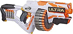 top rated NERF Ultra One Electric Blaster – 25 Ultra Darts – Farthest Flying Darts – Compatibility… 2021
