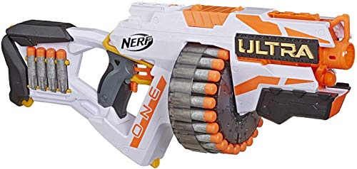 Our #2 Pick is the NERF Ultra One Motorized Blaster Nerf Gun