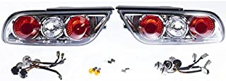 Gent5 GL029 Rear Kouki Type X Style Taillight Set Clear Lens 180sx Hatch 240sx S13