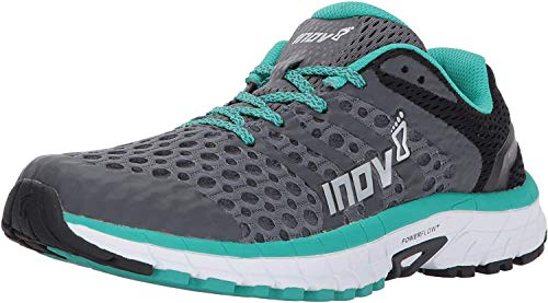 inov-8 Women's Roadclaw 275 V2 Fashion-Sneakers,grey/teal,9.5 B US