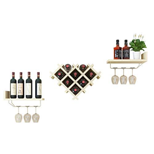 Étagère À Vin Armoire À Vin Restaurant Suspendu Salon Décoration Murale Partition Rack Créatif Moderne Minimaliste