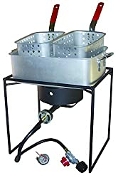 Runner Up for Best Outdoor Deep Fryer: King Kooker 1618 16-Inch Propane Outdoor Cooker