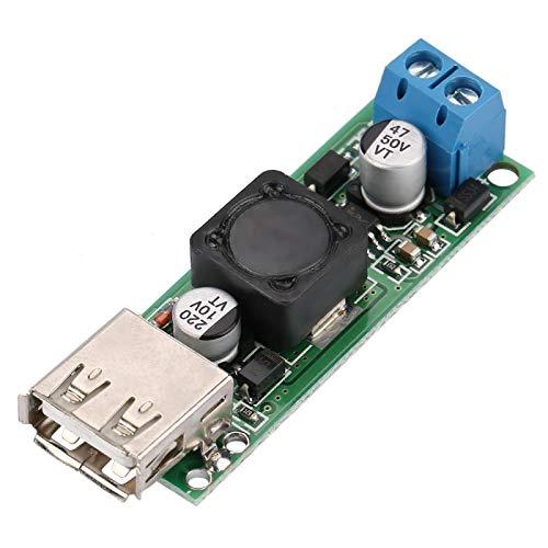Fuente de alimentación reductora de voltaje DC-DC Módulo convertidor de voltaje para 12V24V 6V-32V a 5V QC3.0 Carga rápida USB