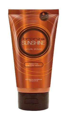 Designer Skin Bronze Sunshine Natural Bronzer Sunbed Dark Tanning Paraben Free Lotion with Shea Butter 130ml