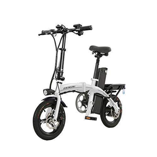 Bici elettriche Biciclette Bicicletta Multifunzionale Mini Bike per Uomo e Donna Scooter Adulto Pieghevole Piccolo Scooter da Lavoro Guida Intelligente a Due Ruote
