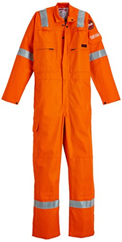 Roots Originele RO23095 Flame Bus TER2 Nordic Work Overalls – 46, Oranje