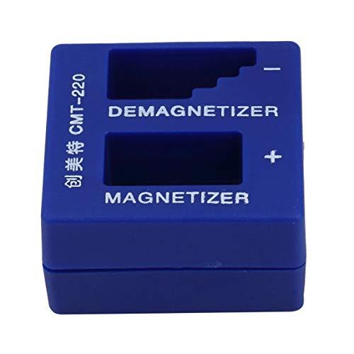 2 en 1 magnetizador desmagnetizador destornillador portátil herramienta de recogida magnética